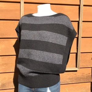Vince | Striped Sweater Alpaca Wool Cashmere Vest